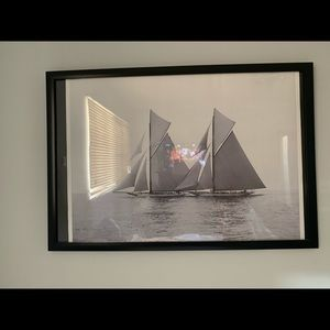Beautiful 11x18 Sailboat Wall Art